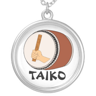 Mano que celebra teclear japonés del tambor de Tai Joyeria Personalizada
