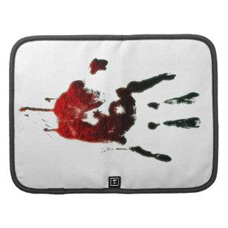 Mano sangrienta del zombi planificadores