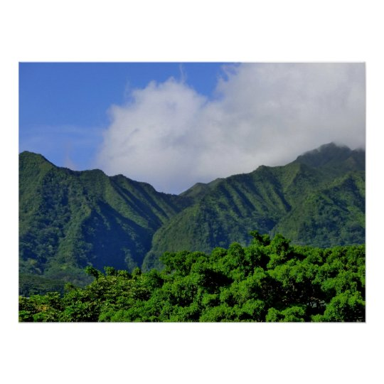 Manoa Valley Poster