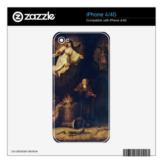 Manoah victims by Govert Flinck iPhone 4S Decals