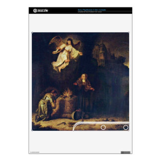 Manoah victims by Govert Flinck PS3 Slim Console Skin