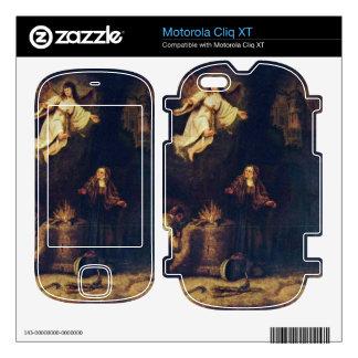 Manoah victims by Govert Flinck Skin For Motorola Cliq XT