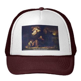 Manoah'S Sacrifice By Govert Flinck Mesh Hats