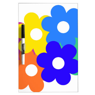 manojo colorido de la flor pizarra