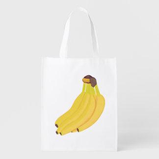 Manojo de bolsos de ultramarinos de encargo de los bolsa reutilizable