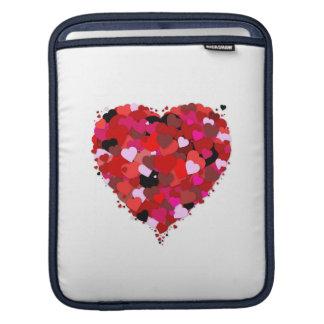 Manojo de corazones funda para iPads