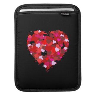 Manojo de corazones fundas para iPads