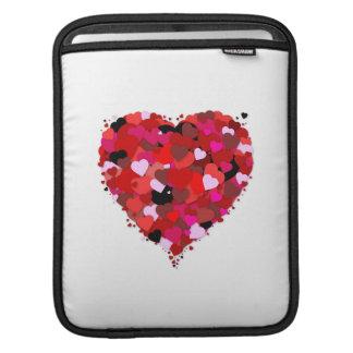 Manojo de corazones manga de iPad