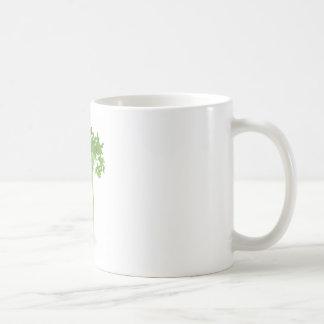 Manojo de ejemplo del apio taza básica blanca