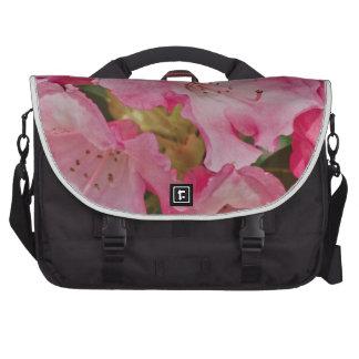 Manojo de flores salvajes rosadas bolsas de portatil