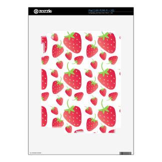 Manojo de la fresa skin para el iPad 2