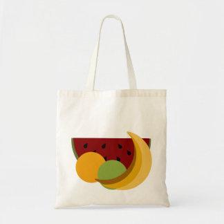 Manojo de la fruta bolsa tela barata