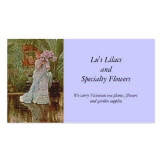 Manojo de las lilas c1875 tarjetas de visita