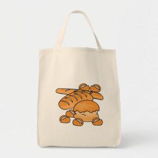 manojo de pan y de rollos bolsas de mano