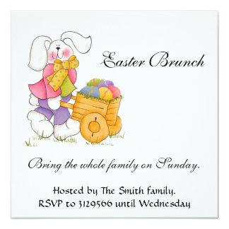 Manojo de Pascua Invitacion Personalizada