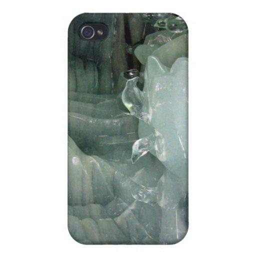 Manojo de pingüino del hielo iPhone 4 carcasa