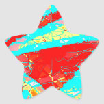 Manojo entero 47 calcomanías forma de estrellaes personalizadas