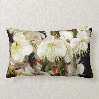 Manojo exótico de la flor blanca por los regalos almohadas
