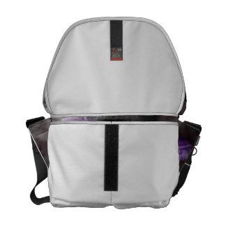 Manojo subió colorized púrpura bolsas de mensajeria