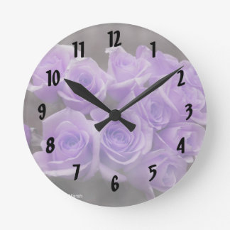 Manojo subió colorized púrpura relojes