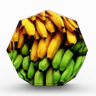 Manojo vibrante del plátano