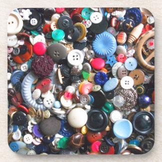 Manojos de botones posavasos