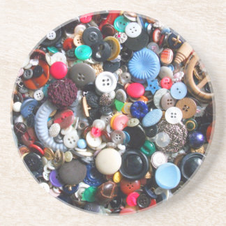 Manojos de botones posavasos de arenisca