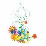 manojos de la flor de vector de los remolinos escultura fotografica