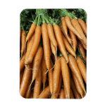 Manojos de zanahorias, marco completo iman flexible