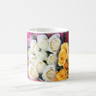 manojos o taza de los rosas