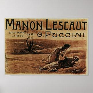 Manon Lescaut Poster