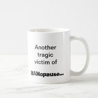 MANopause Classic White Coffee Mug