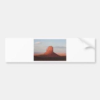 Manopla, valle del monumento, Utah, los E.E.U.U. 6 Etiqueta De Parachoque