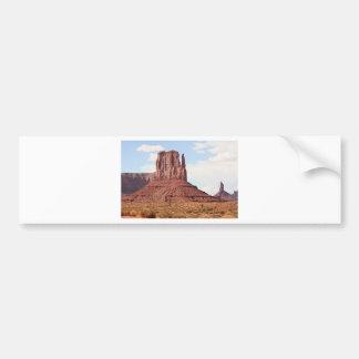Manopla, valle del monumento, Utah, los E.E.U.U. 7 Pegatina De Parachoque