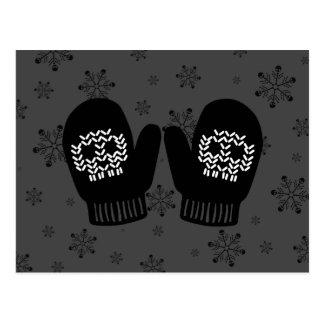 Manoplas del cráneo tarjetas postales