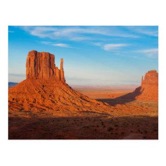 Manoplas del desierto de Utah del valle del Tarjetas Postales
