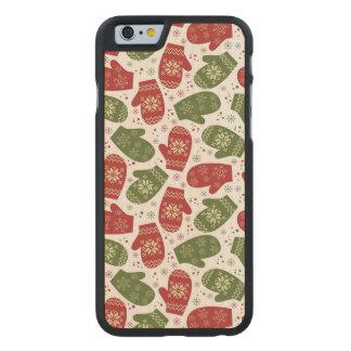 Manoplas Funda De iPhone 6 Carved® De Arce