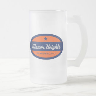 Manor Heights Frosted Glass Beer Mug