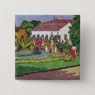 Manor House in Kertvelyes, 1907 Button