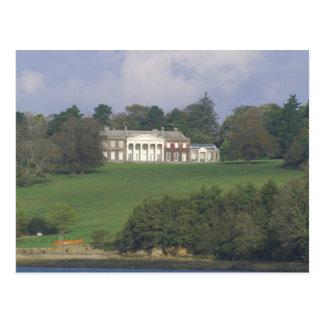 Manor house postcard