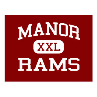 Manor - Rams - Manor Middle School - Killeen Texas Postcard