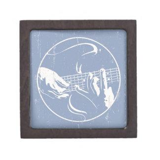 Manos 814 de la guitarra caja de joyas de calidad