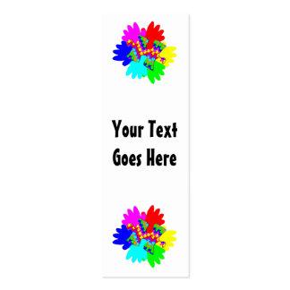 Manos adaptables y pedazo de desconcierto del romp tarjetas de visita
