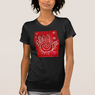Manos amigas para Haití Camisetas
