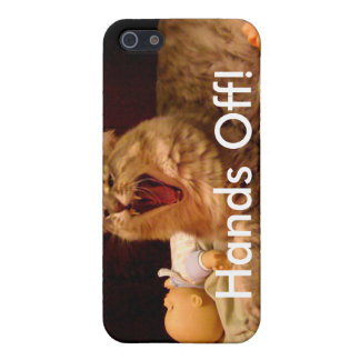 ¡Manos apagado! caso del iphone iPhone 5 Carcasas