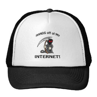 ¡Manos apagado de mi Internet! Gorros