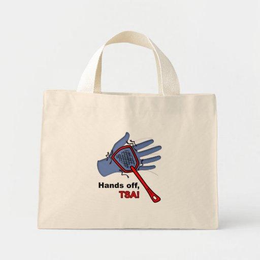 ¡Manos apagado, TSA! La bolsa de asas minúscula