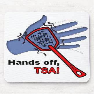 ¡Manos apagado, TSA! Mousepad