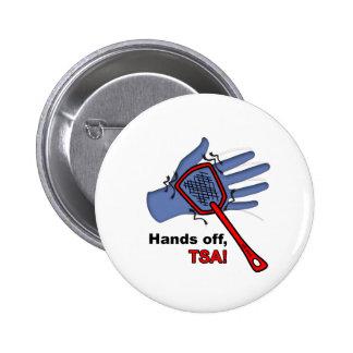 ¡Manos apagado, TSA! Pin