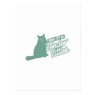 ¡Manos blandas de Vittles apagado! Tarjetas Postales